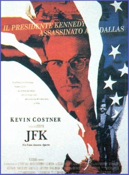 La locandina di JFK - un caso ancora aperto