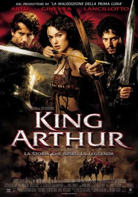 La locandina di King Arthur