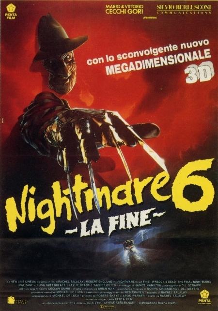 La locandina di Nightmare 6: la fine