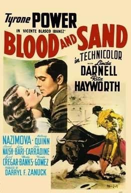 La locandina di Sangue e arena