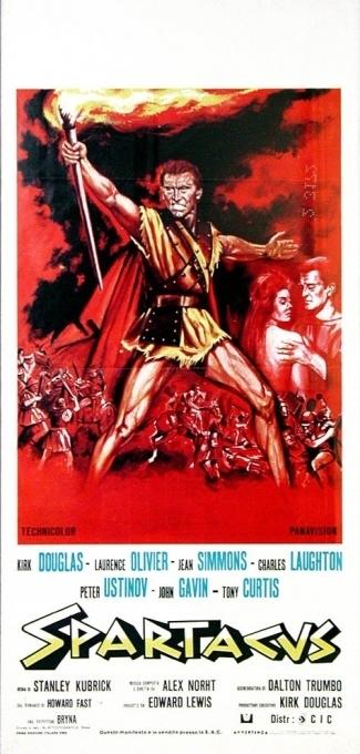 La locandina di Spartacus