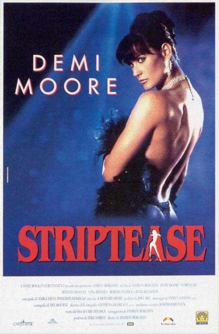 La locandina di Striptease