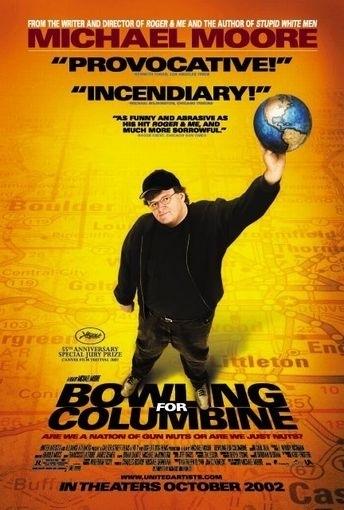 La locandina di Bowling a Columbine