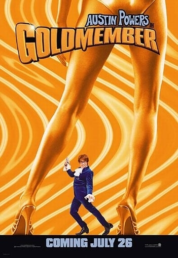La locandina di Austin Powers in Goldmember