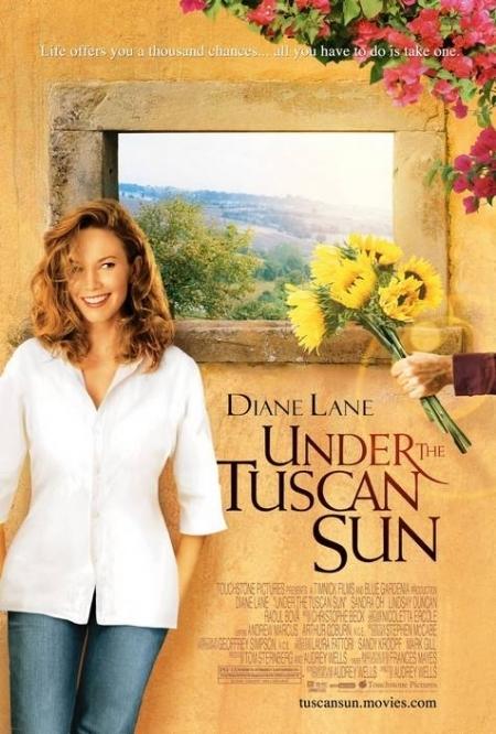La locandina di Sotto il sole di Toscana
