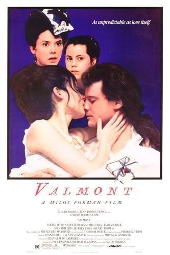La locandina di Valmont