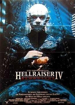 La locandina di Hellraiser - La stirpe maledetta