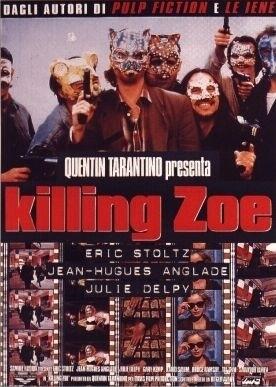 La locandina di Killing Zoe