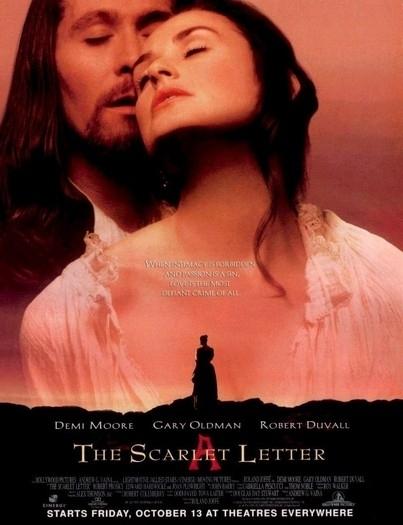 La locandina di La lettera scarlatta