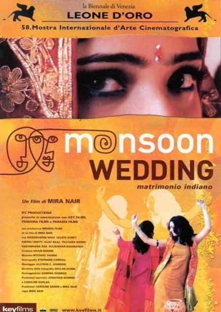 La locandina di Monsoon Wedding