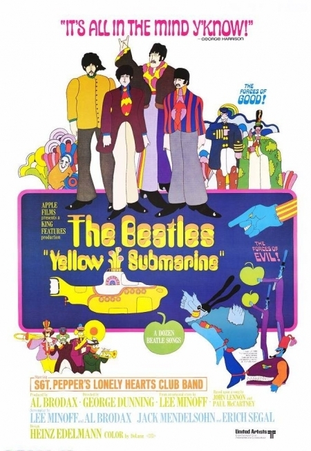La locandina di Yellow Submarine