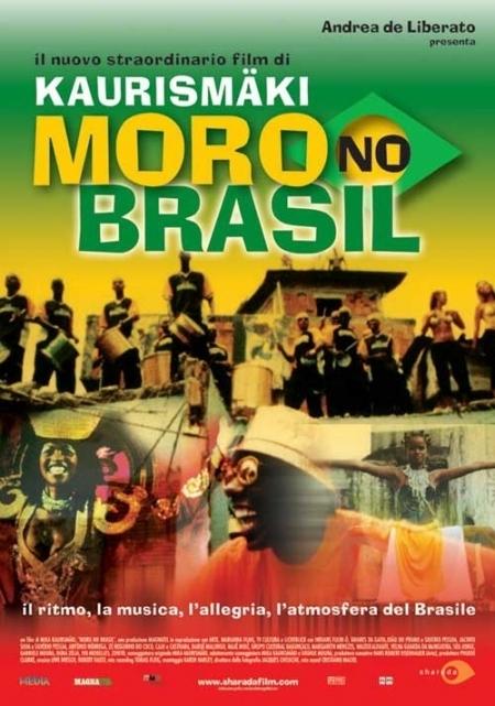 La locandina di Moro No Brasil