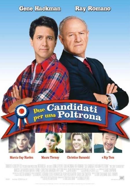La locandina di Due candidati per una poltrona