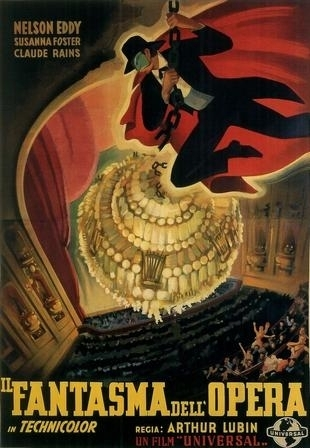 La locandina di Il fantasma dell'opera