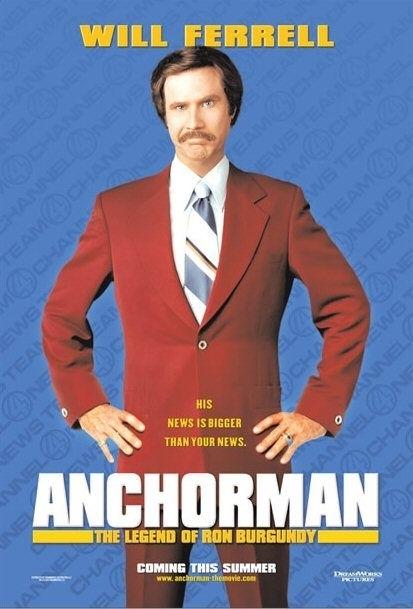 La locandina di Anchorman