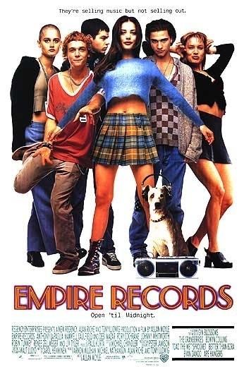 La locandina di Empire Records