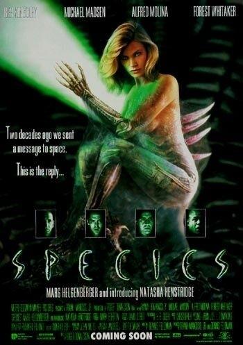 La locandina di Species - Specie mortale