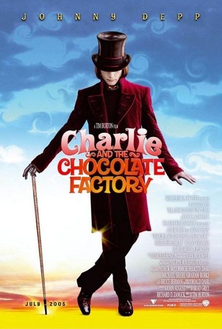 La locandina di Charlie e la fabbrica di cioccolato