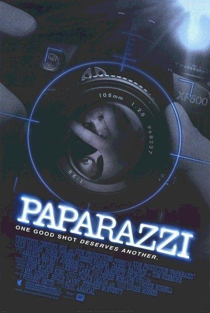 La locandina di Paparazzi