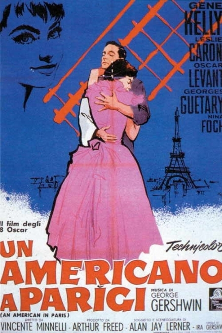 La locandina di Un americano a Parigi