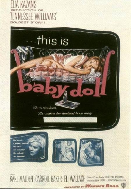 La locandina di Baby Doll - La bambola viva
