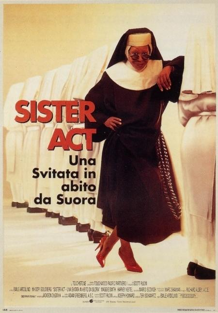La locandina di Sister Act - una svitata in abito da suora
