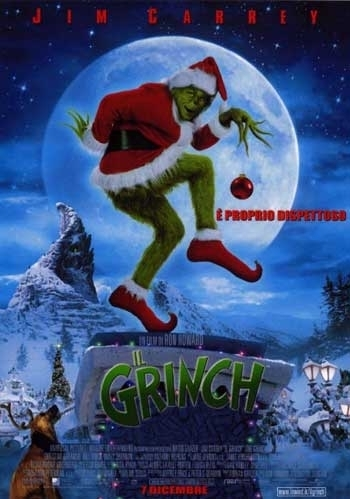 La locandina di Il Grinch