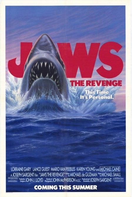 La locandina di Lo squalo 4: la vendetta