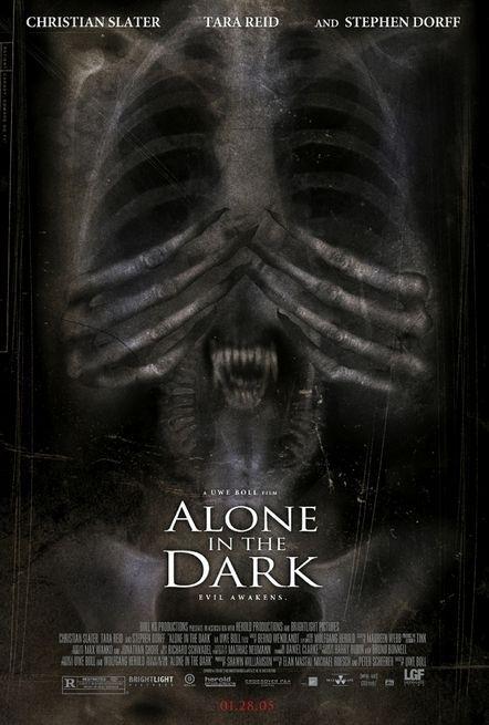 La locandina di Alone in the Dark