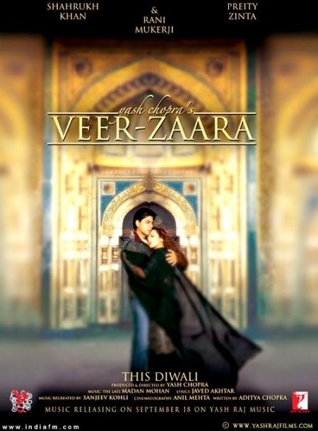 La locandina di Veer Zaara
