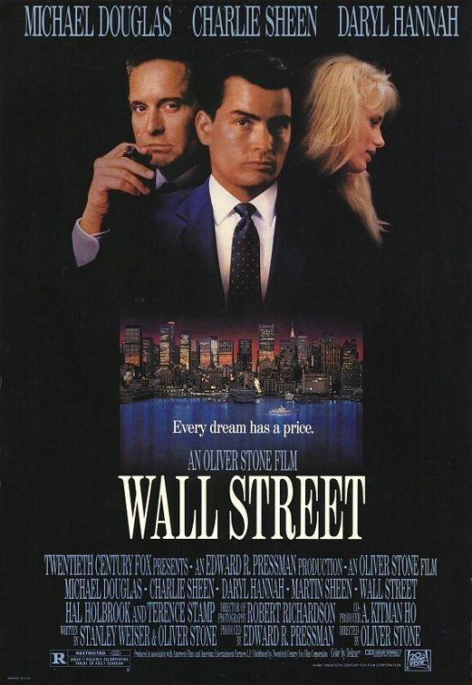 La locandina di Wall Street