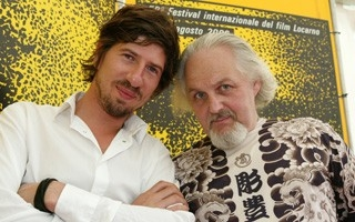 Locarno 2006 -  NO BODY IS PERFECT Raphaël Sibilla, regista e Matty Jankowski, uno dei protagonisti del documentario