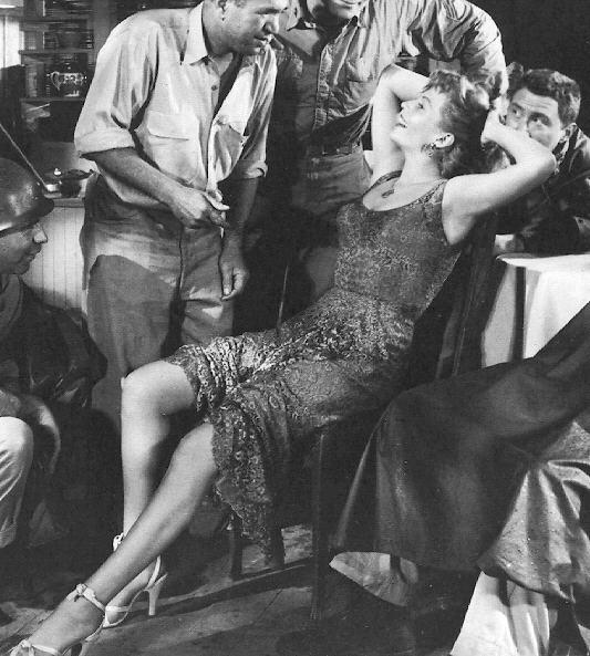 Rita Hayworth in una foto pubblicitaria