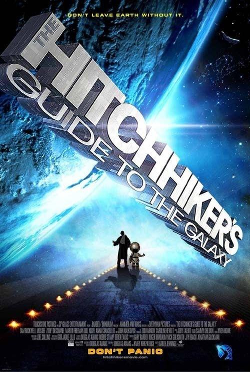 La locandina di The Hitchhiker's Guide to the Galaxy
