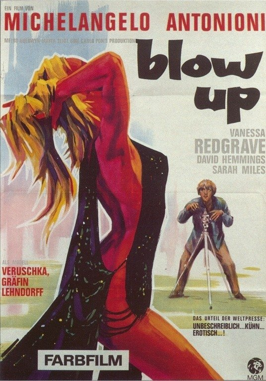 Il manifesto di Blow Up
