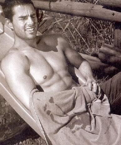 Un'immagine sexy di Tom Cruise