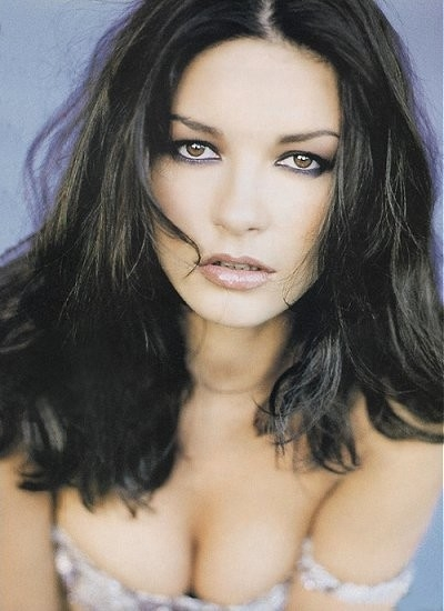 l'affascinante Catherine Zeta-Jones