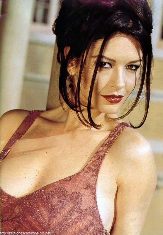 una seducente Catherine Zeta-Jones