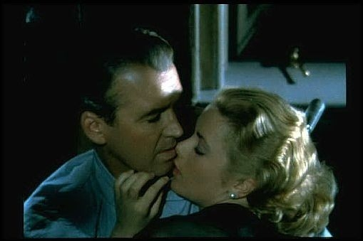James stewart e grace kelly ne la finestra sul cortile 11138 - La finestra sul cortile film ...