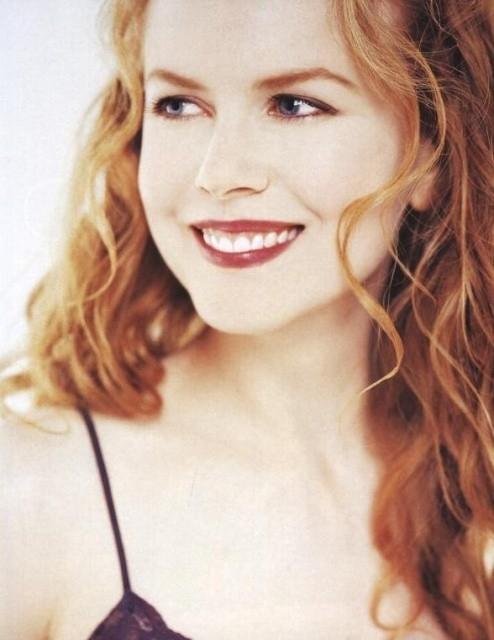 una sorridente Nicole Kidman