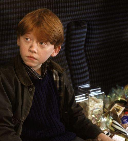 Rupert Grint è Ron Weasley in Harry Potter e la pietra filosofale (2001)
