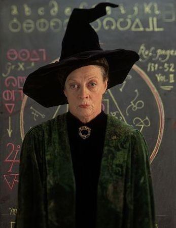 Maggie Smith è la professoressa McGranitt
