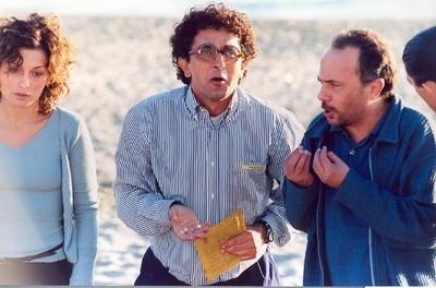 Vincenzo Salemme con Maurizio Casagrande in una scena di Cose da Pazzi