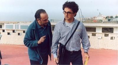 Vincenzo Salemme e Maurizio Casagrande in una scena di Cose da Pazzi