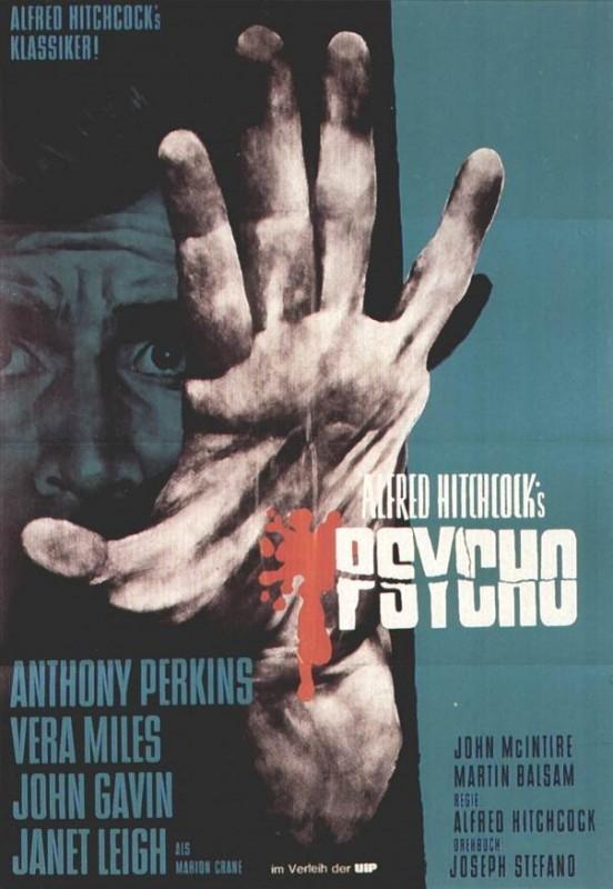 Il manifesto tedesco di Psycho