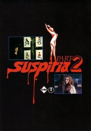 Il pressbook giapponese di Profondo Rosso: in Giappone il film fu intitolato 'Suspiria 2' grazie al successo di 'Suspiria' che era uscito l'anno prima