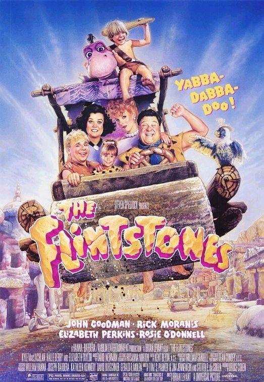 La locandina di The Flinstones