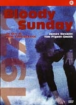 La copertina DVD di Bloody sunday
