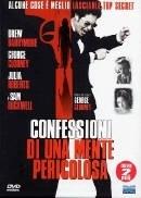 La copertina DVD di Confessioni di una mente pericolosa