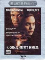 La copertina DVD di Il dvd de Il collezionista di ossa - Superbit